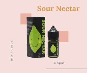 Trio E-liquid E-juice Sour Nectar