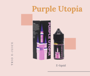 Trio E-liquid E-juice Purple Utopia